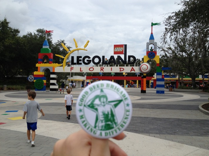 Good Deed Brigade Legoland - Winter Haven, Florida